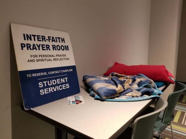 Toronto Police investigating vandalized posters in Humber's  multi-faith prayer room