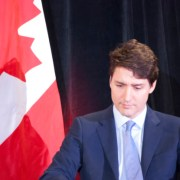 Trudeau stays away from SNC-Lavalin scandal at an armchair discussion in Toronto