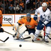 Leafs lose to Predators