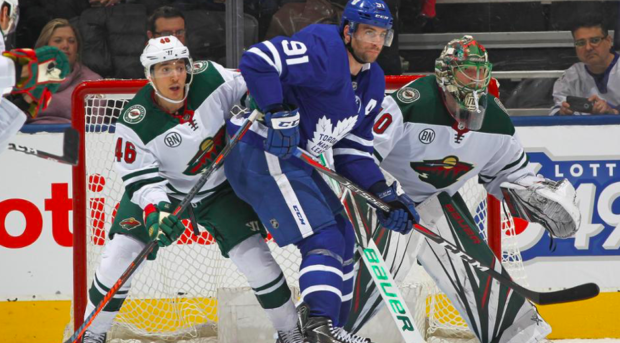 Leafs cruise past the Wild 4-2