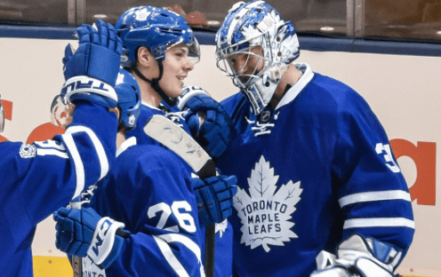 Maple Leafs escape with a win