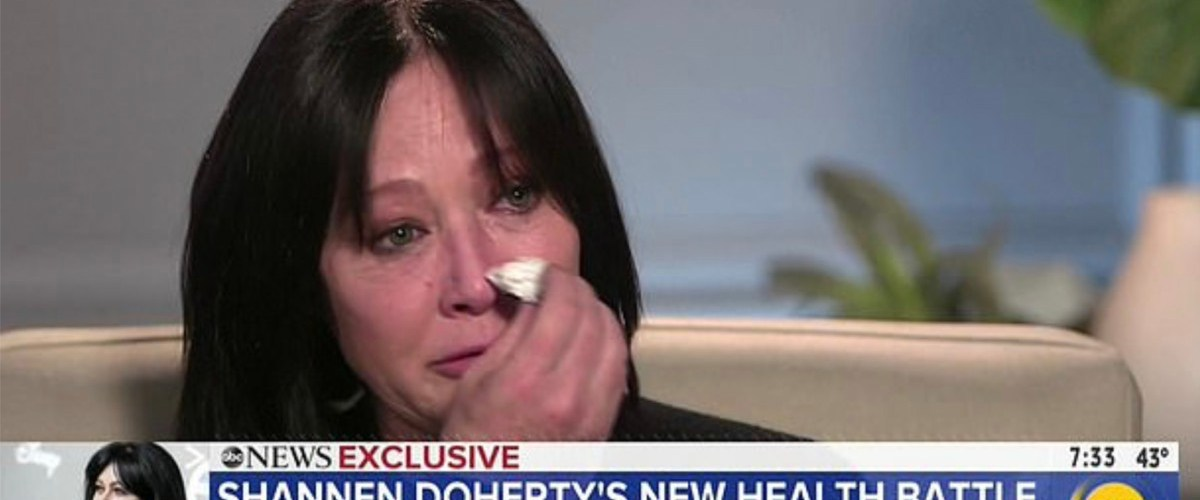 Shannen Doherty reveals she has Stage 4 breast cancer