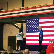 """""""She is an impressive woman and candidate;"""" Americans react to Warren's GOTV in Nashua, NH"""