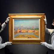 Churchill painting gifted to FDR set for  Christie's auction block