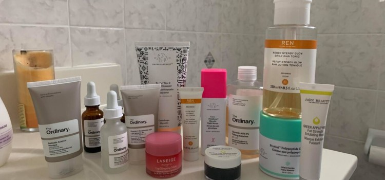 Skincare products proving more popular during COVID, but make-up isn't forgotten