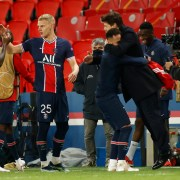Football champs PSG and Chelsea advance to semi-finals
