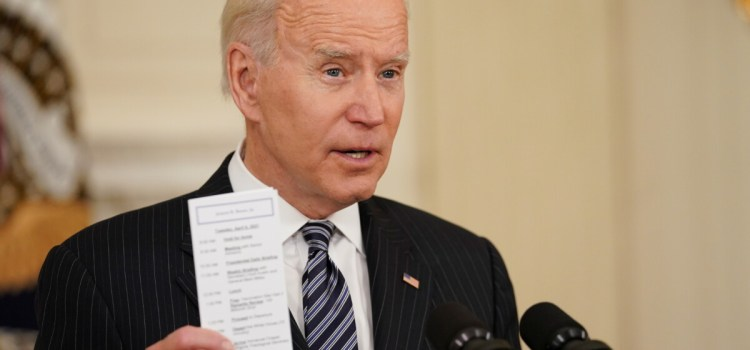 Americans over 18 eligible for COVID vaccine by mid-April, Biden says