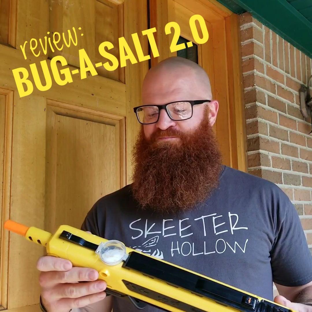 Product Review Bug A Salt 2 0 The Original Salt Gun Skeeterhollow