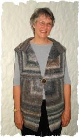 Modular Garter Stitch Vest