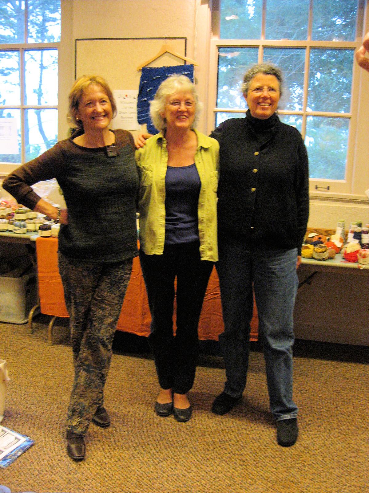 Sally, Carolyn, and Nancy