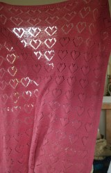 The Rose Heart Afghan