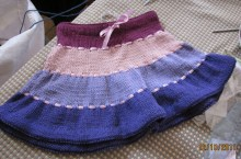 """Ribboned"" Twirly Skirt"