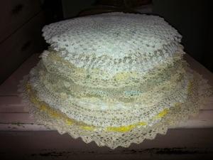 "A ""pancake"" of crochet"