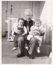 Grandpa, Johnny and me