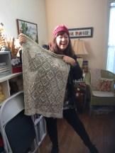 Kimberly's baby blanket