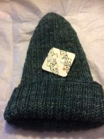 Carolyn - Another hat knit in Rios