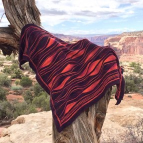 Miss Grace Shawl from customers Camping Trip (002)