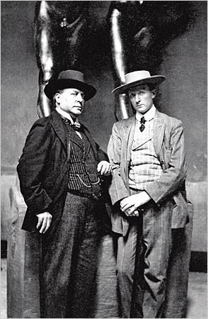 Henry James and Hendrik C. Andersen, 1907. Photo: Museo Hendrick Christian Andersen