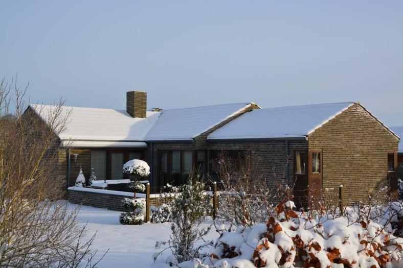 Snedækket 1 planshus