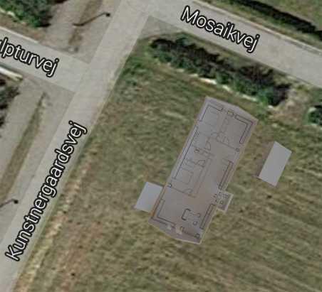 Set oppfra med googlemaps