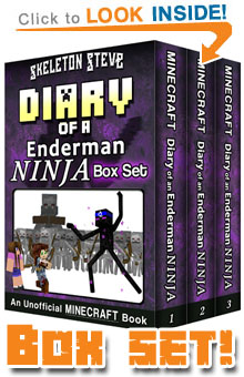 Read The Enderman Ninja Box Set Collection (Books 1-3) on Amazon NOW! Free Minecraft Book on Kindle Unlimited!
