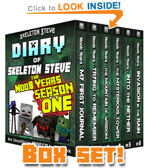 "Season ONE of ""Skeleton Steve the Noob Years"" All SIX Episodes! Click to Learn More..."