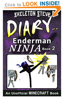 Minecraft Diary of an Enderman Ninja - Book 2 - Unofficial Minecraft Diary Books for Kids, Teens, & Nerds