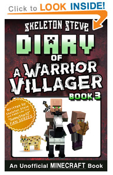 COMING SOON - Read Minecraft Diary of a Warrior Villager Book 3 on Amazon NOW! Free Minecraft Book on KU!