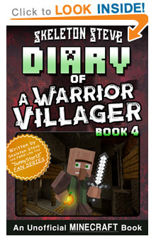 COMING SOON - Read Minecraft Diary of a Warrior Villager Book 4 on Amazon NOW! Free Minecraft Book on KU!