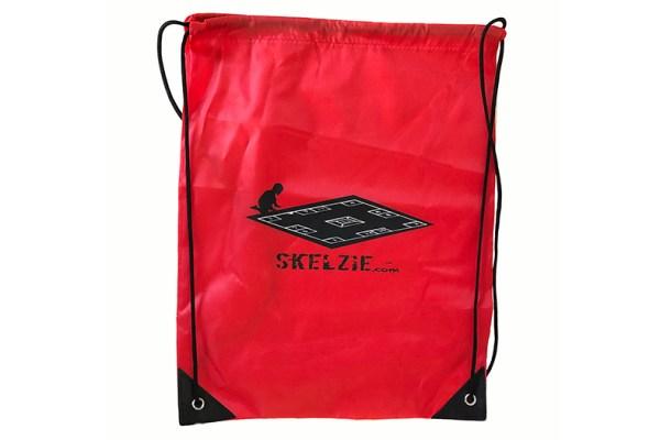 Skelzie Red Back Pack
