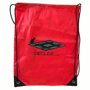 Skelzie Red Back Pack