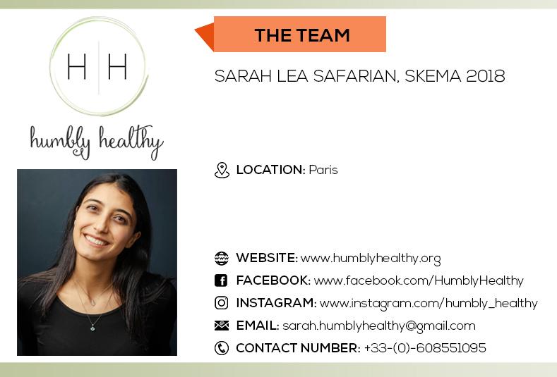 Humbly Healthy - Sarah Lea Safarian