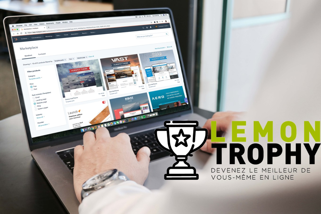 Lemon Trophy by SKEMA Ventures and Lemon Interactive