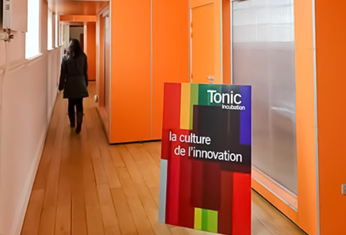 Tonic Incubation Lille office