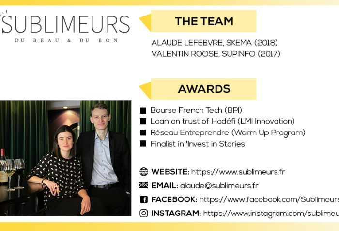 Company profile: Sublimeurs