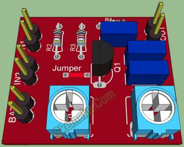 audio mixer fet 3d