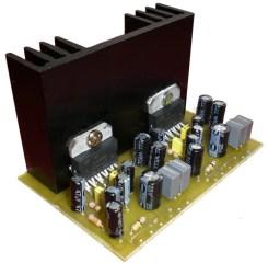 rangkaian amplifier tda2005
