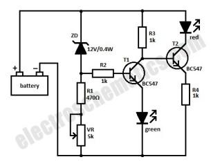 monitor level baterai