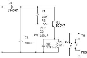Rangkaian speaker protektor sederhana