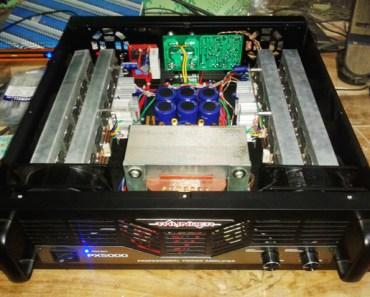 power amplifier rakitan