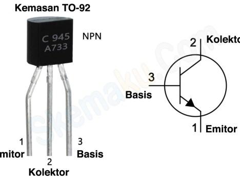 pin transistor c945