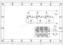 rangkaian electronic flasher 3 way