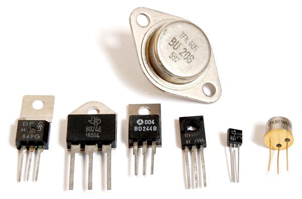 bentuk transistor