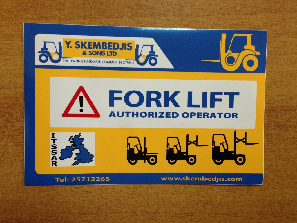 Operator training forklifts in cyprus yembedjis and sons ltd the xflitez Choice Image