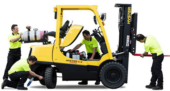 Forklifts Service & Repairs Cyprus