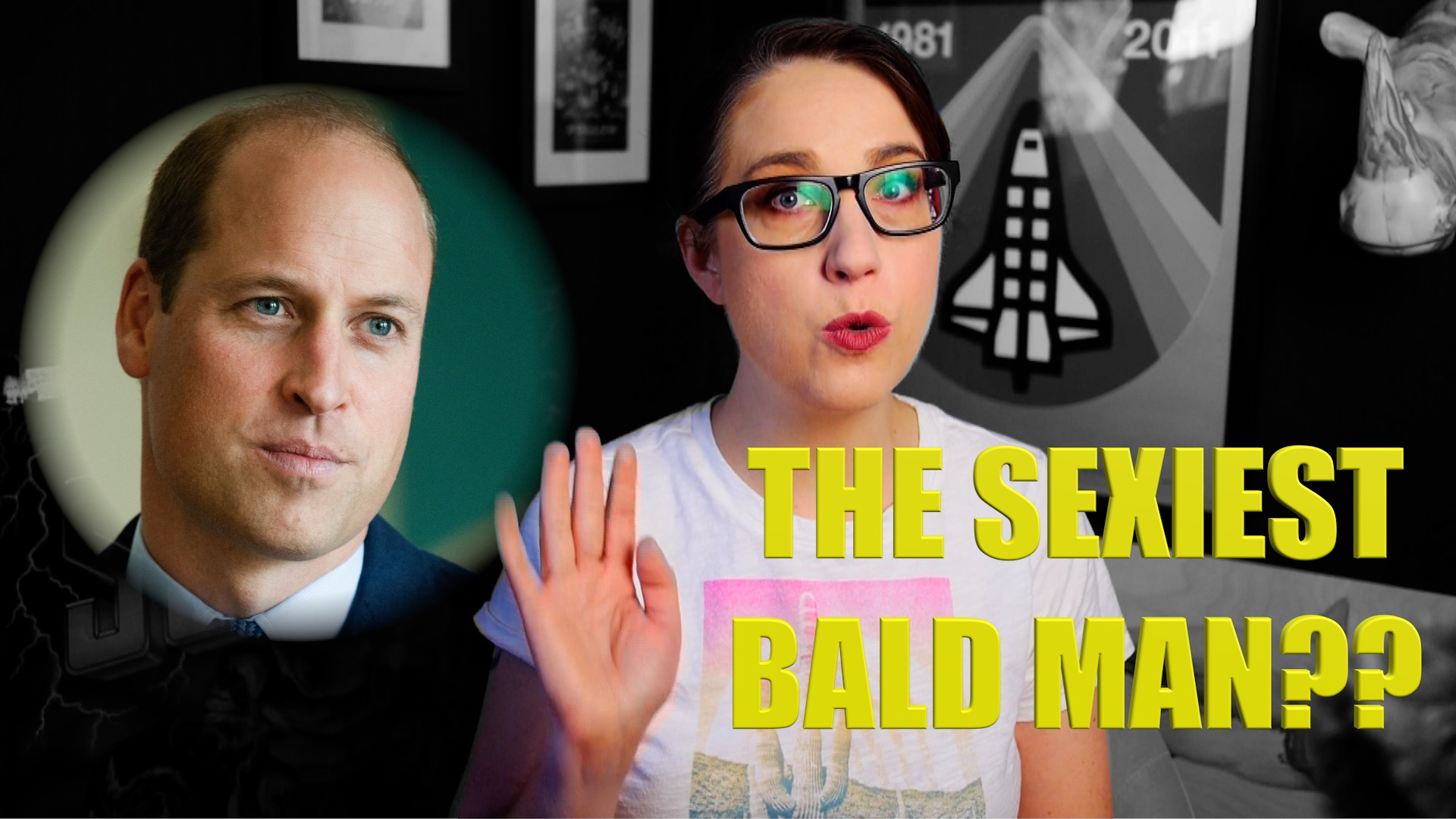 (Fake) SCIENCE Finds the World's Sexiest Bald Man