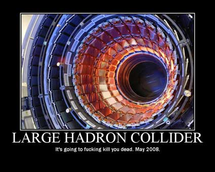 Large Hadron Collider Breaks High-Energy Physics Record... Earth Survives