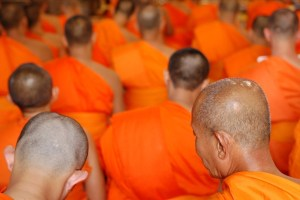 Monks. Licensed through Creative Commons