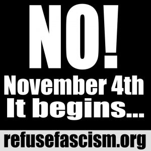 Bob Avakian, Refuse Fascism and Nov4 It Begins
