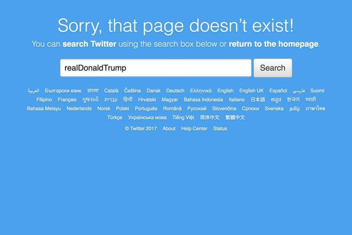 """Twitter Explains How Donald Trump's Account Was """"Inadvertently"""" Deactivated"""